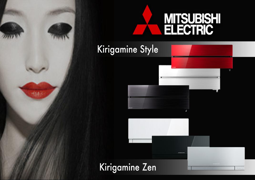 DESIGN CONDIZIONATORI MITSUBISHI ELECTRICS KIRIGAMINE STYLE