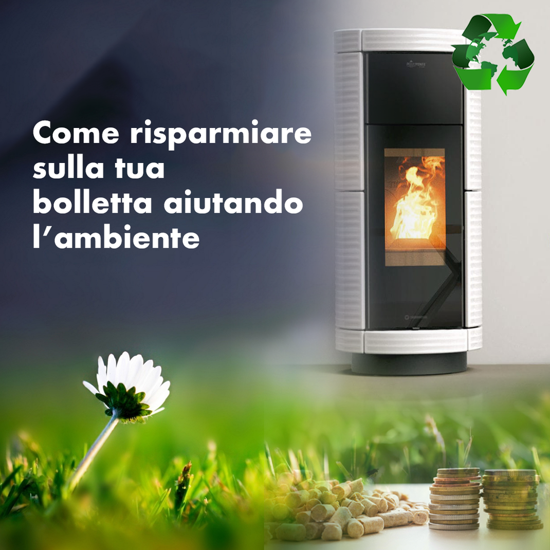 come risparmiare sulle bollette con la caldaia a biomassa aiutando anche  l'ambiente