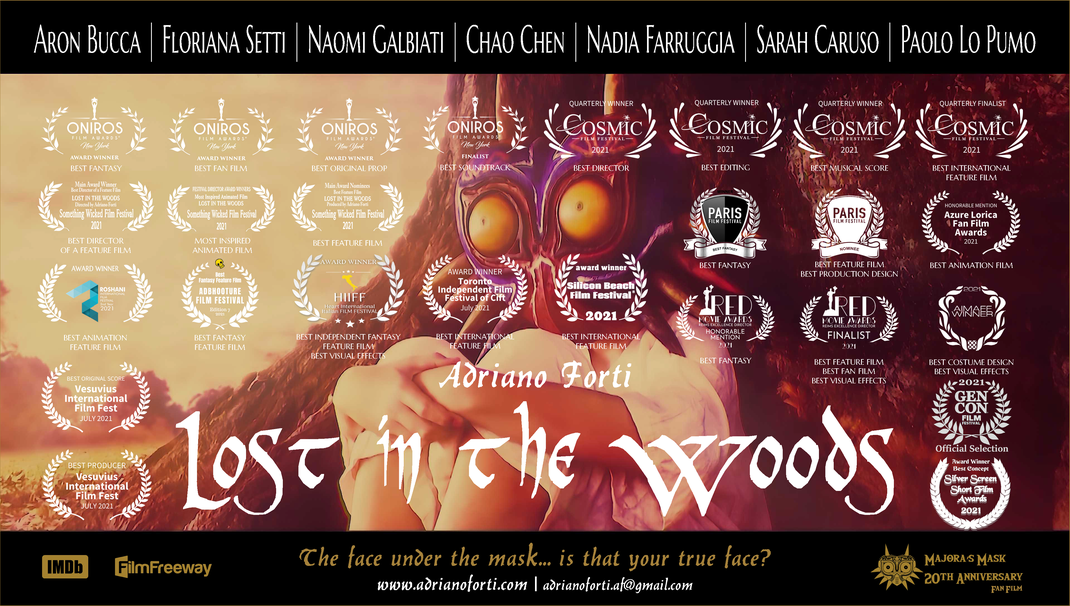 LOST IN THE WOODS | DIGITAL PRESS KIT - Click on the image to watch inside