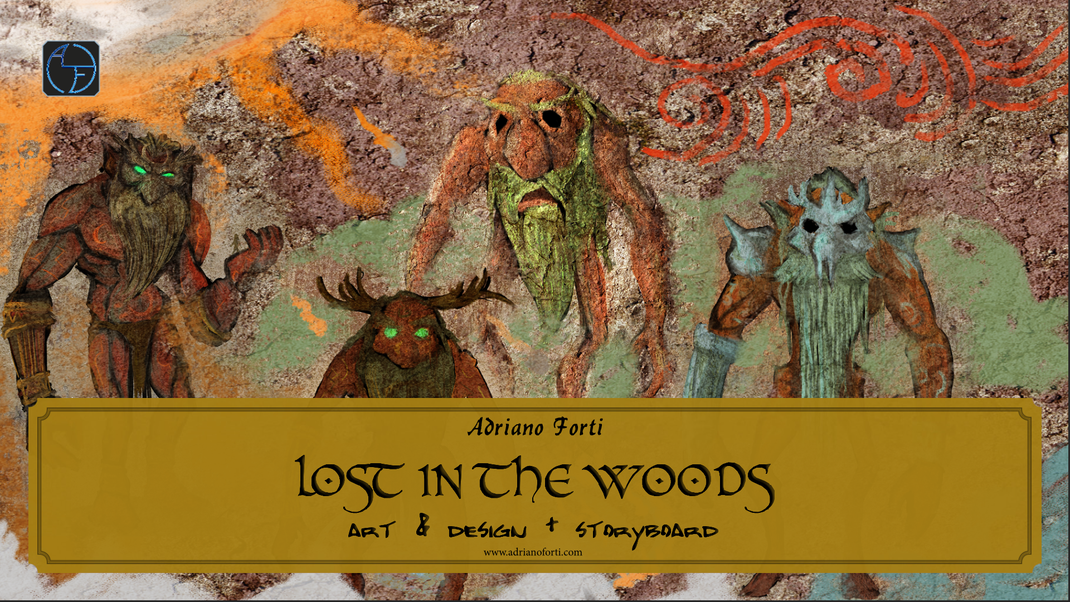 """An in-depth  journey through the creation process of the feature film """"Lost in the Woods"""" by Adriano Forti, freely adapted from the videogame """"The Legend of Zelda: Majora's Mask""""."""