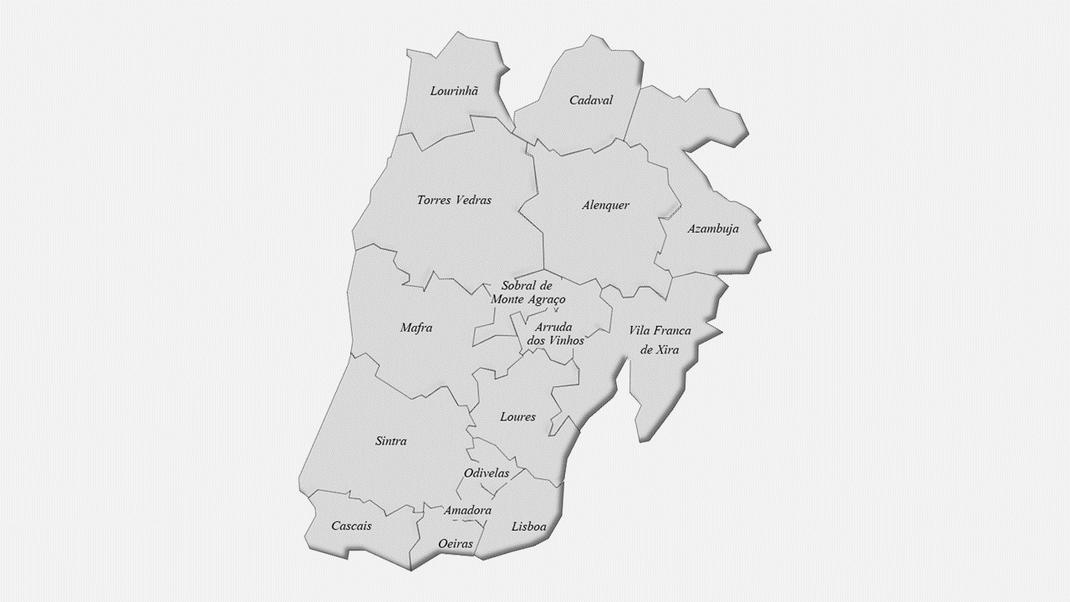Concelhos do distrito de Lisboa
