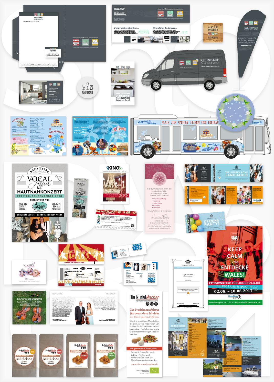 Werbeagentur, Grafik Design