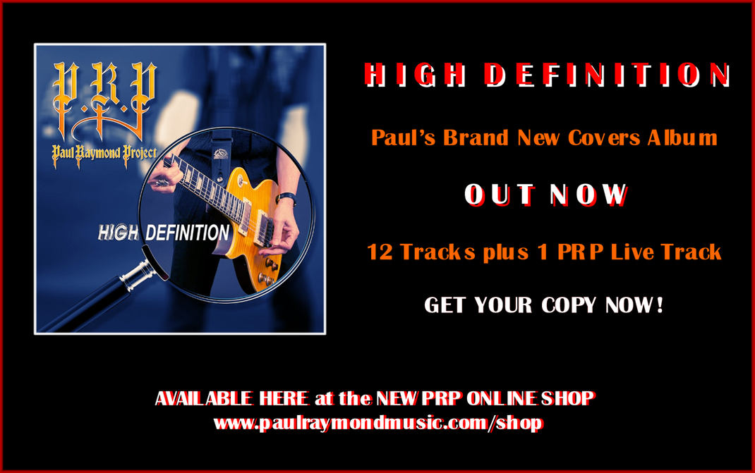 High Definition - PRP Covers Album - 2019