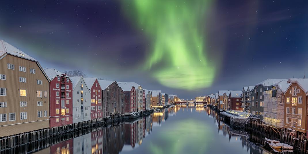 City of Trondheim  Norway