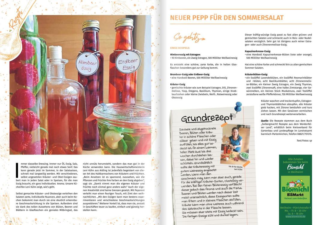 Veröffentlichung in der Vis á Vis Heimatmagazin- Merkur, No. 37 vom Juli/August 2021