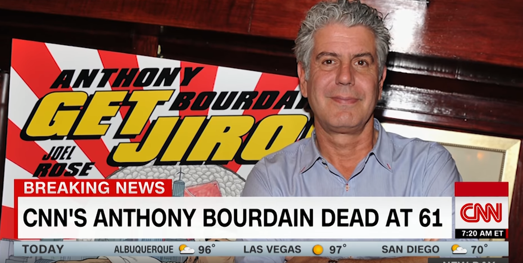 Anthony Bourdain (Screenshot: Youtube CNN)