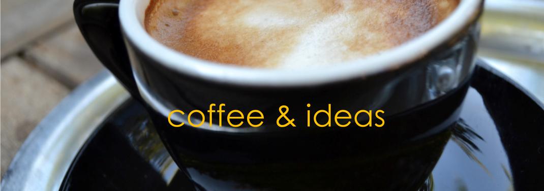 koffie en goede ideeen