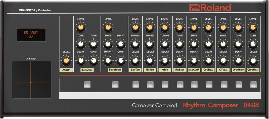 TR-08 Editor Controller