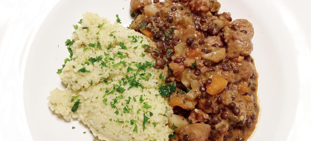 African Rub; afrikanische Küche; Rezept; Linsen; Fleisch