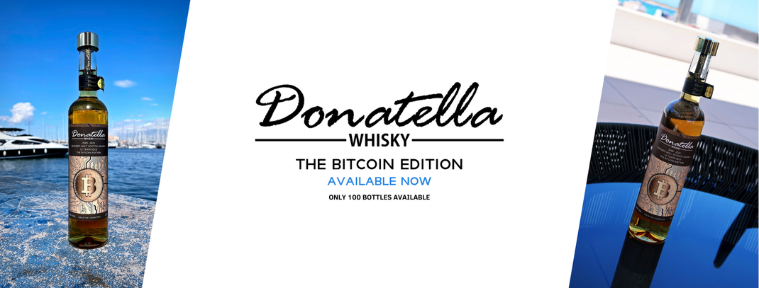 Donatella Whisky - The Bitcoin Whisky Edition (12 Years old)