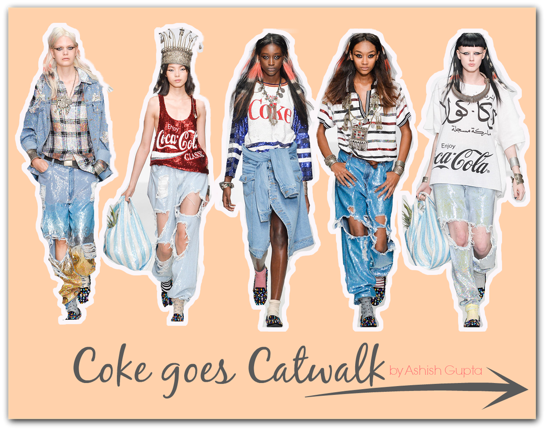 Freaky Friday | Coke goes Catwalk by Ashish Gupta