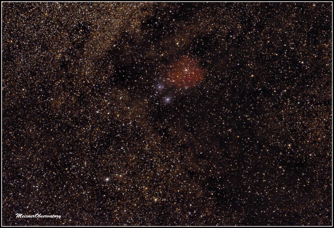 IC 1284, IC 1283, Sh-2 37, VdB 118, NGC6590; NGC 6589 - MeixnerObservatorium