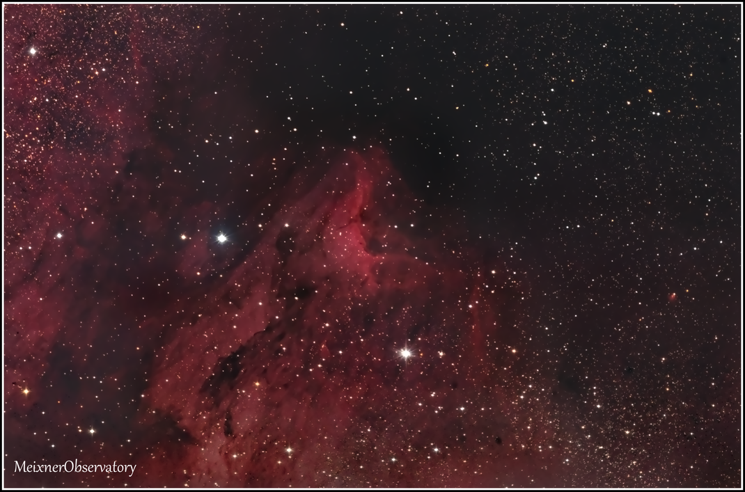 IC 5070 Pelikan-Nebel, Pelican-Nebula - MeixnerObservatorium