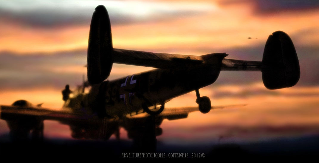 "Messerschmitt Bf 110 C/ 7 S9+LP "" Zerstorer "" in Caucasus land - Dragon modelkit scale 1:32 + Eduard photoetched"