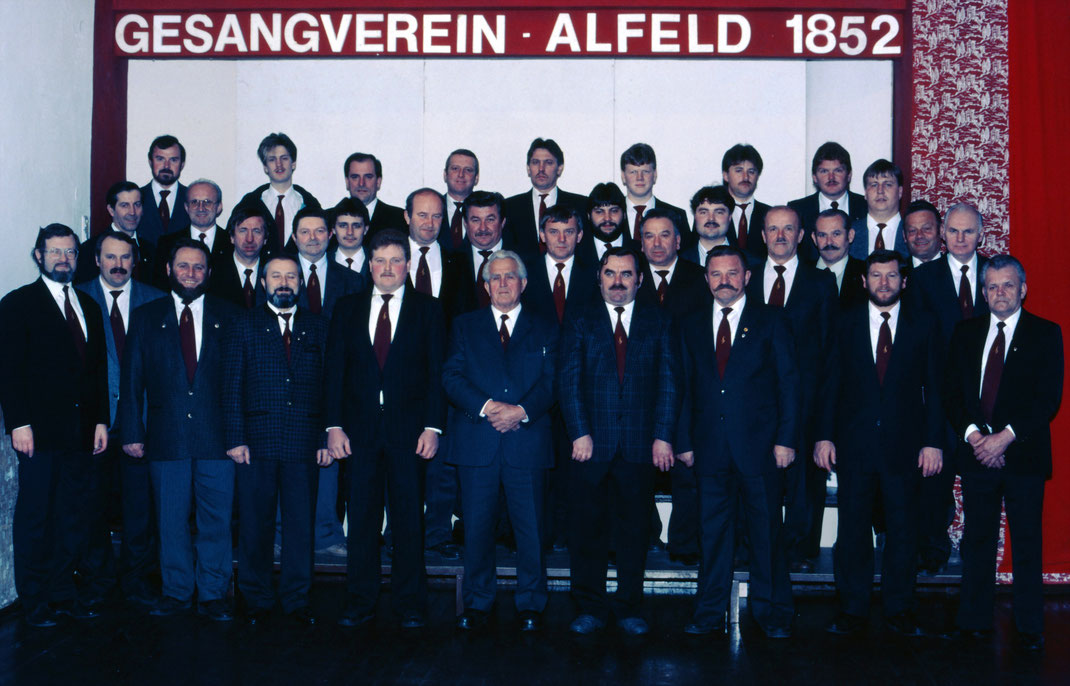 1987 Männcherchor Gesangverein Alfeld