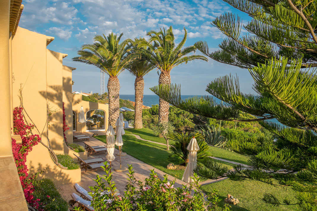 Ausblick Hotelzimmer Vila Joya in Portugal