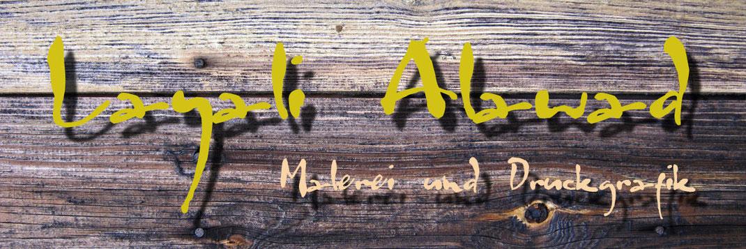 Abteilung der Künstlerin Layali Alawad in der Galerie Frutt dell'Arte in Aachen