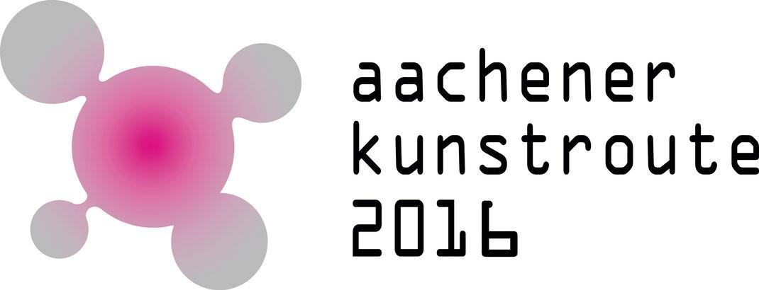 Logo der aktuellen Aachener Kunstroute