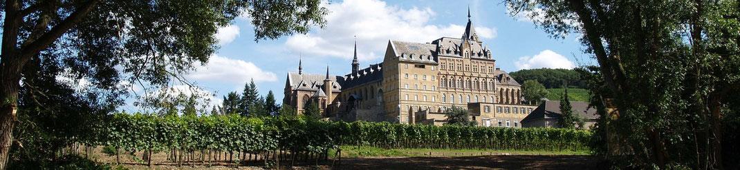 Weinprobe in Ahrweiler im Kloster Calvarienberg