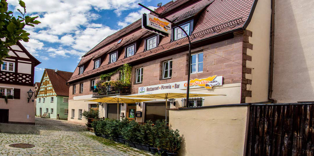 Unser Restaurant in Spalt, nahe am Brombachsee. Mit Genuss Italienisch essen.