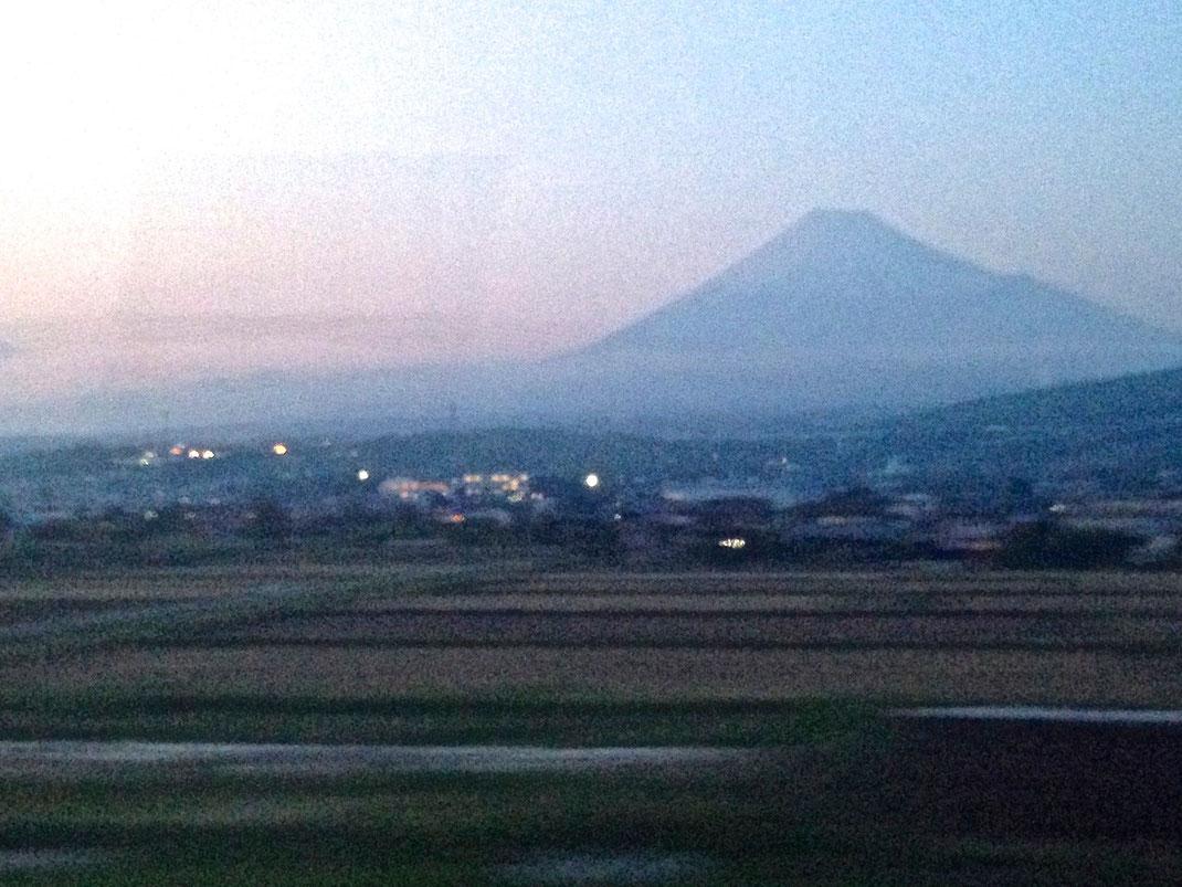 Fujiyama vu du shinkansen