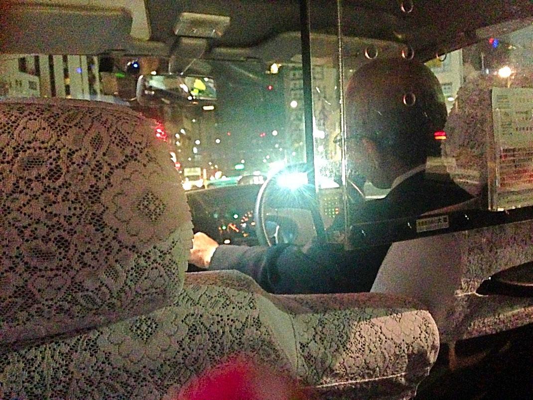Mon premier contact nippon - Chauffeur de Taxi