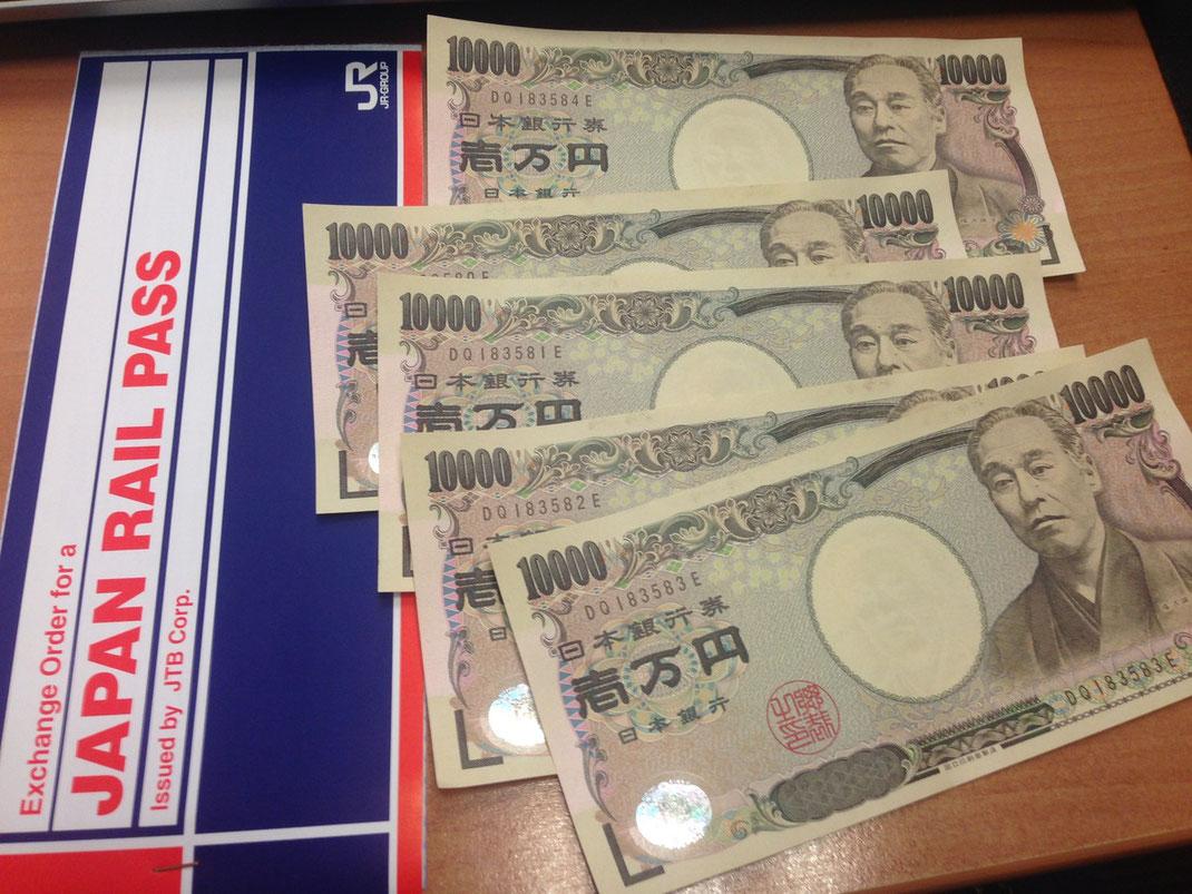 Yen et JRP