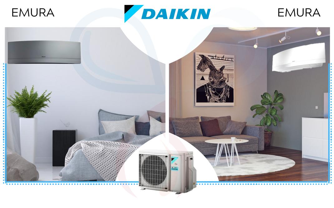 Prezzo offerta climatizzatore Daikin Dualsplit  Emura con inverter classe A+++  a Torino. Richiedi un preventivo