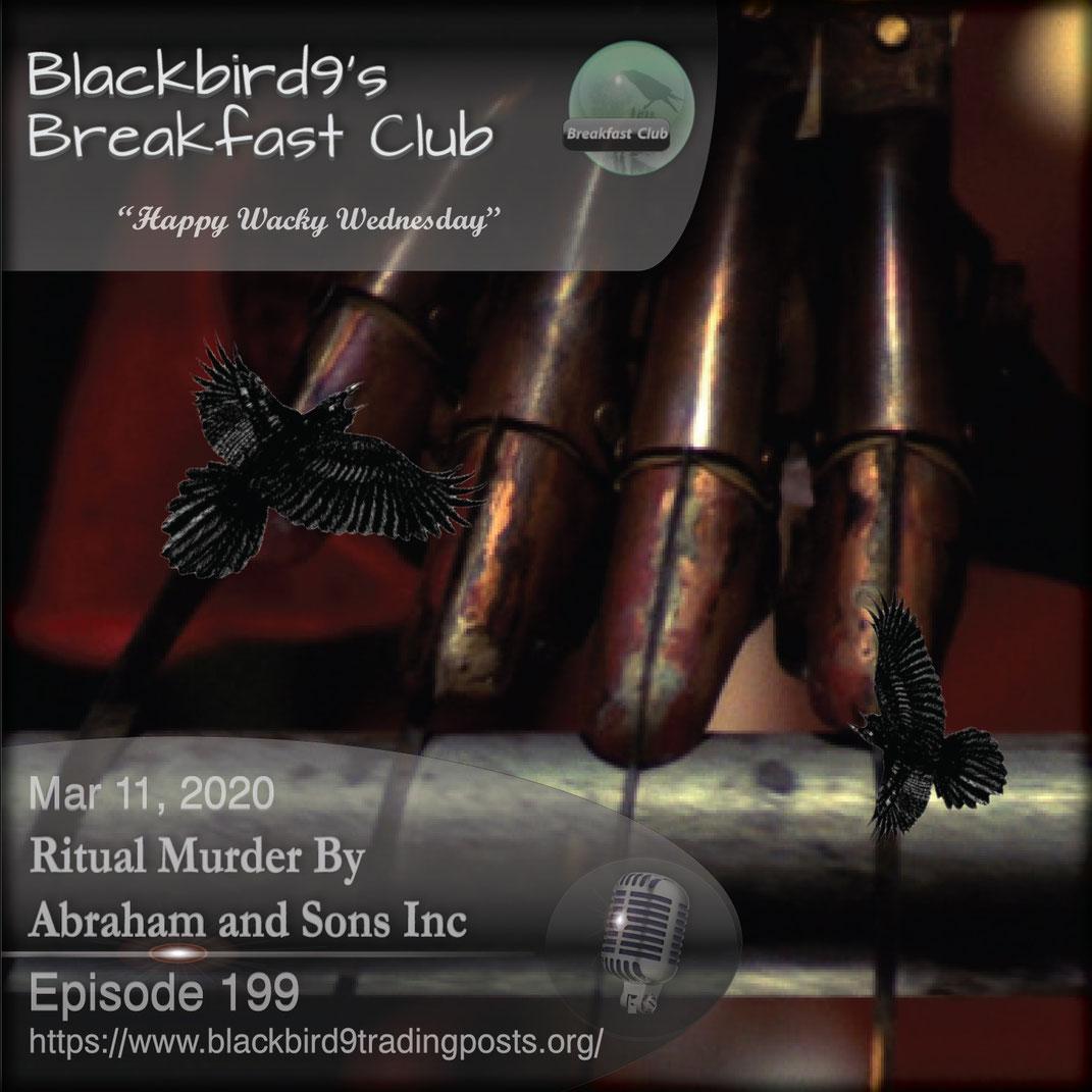 Ritual Murder By Abraham and Sons Inc -  Blackbird9