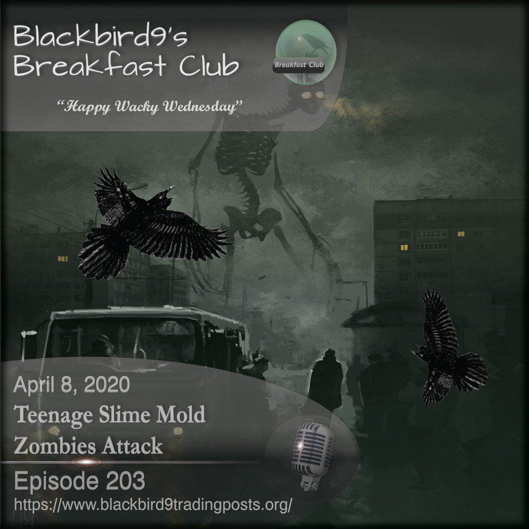 Teenage Slime Mold Zombies Attack - Blackbird9