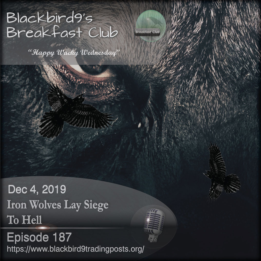 Iron Wolves Lay Siege To Hell - Blackbird9