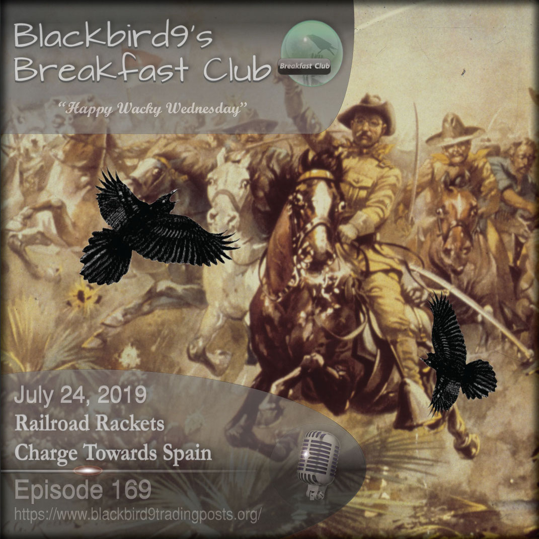 Railroad Rackets Charge Towards Spain - Blackbird9