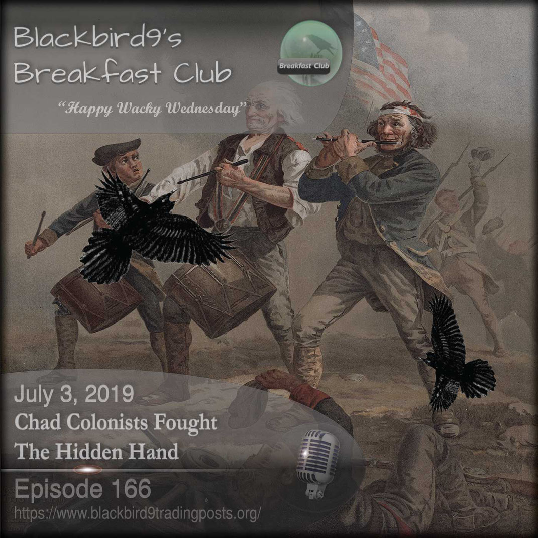 Chad Colonists Fought The Hidden Hand - Blackbird9