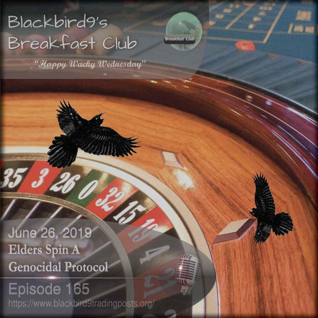 Elders Spin A Genocidal Protocol - Blackbird9