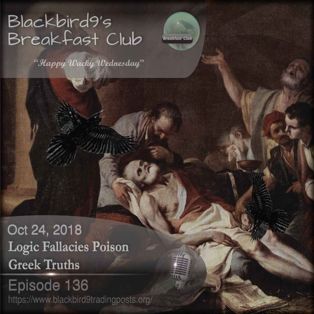 Logic Fallacies Poison Greek Truths - Blackbird9
