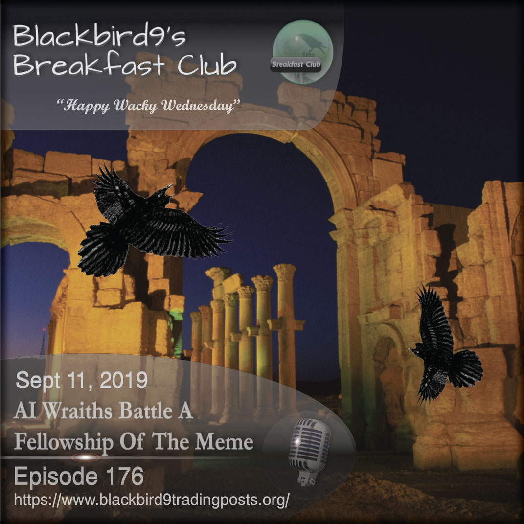 AI Wraiths Battle A Fellowship Of The Meme - Blackbird9
