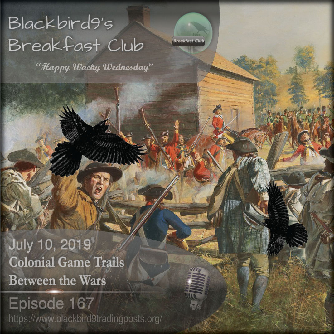 Colonial Game Trails Between the Wars - Blackbird9