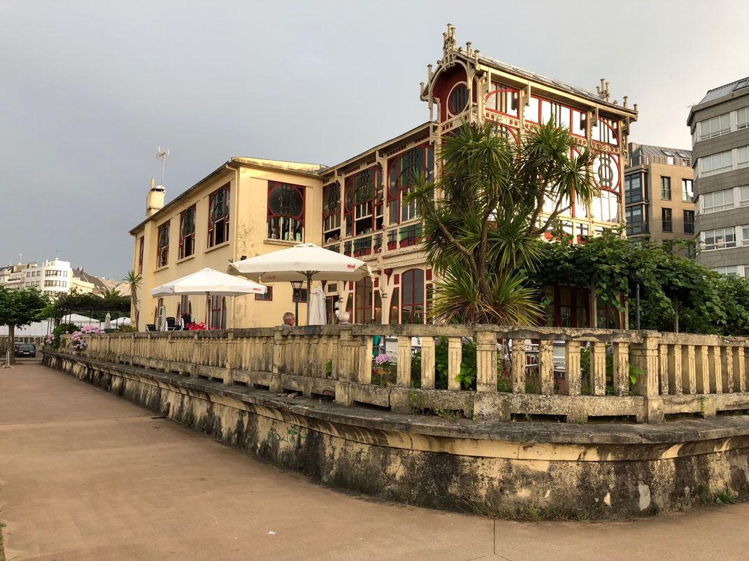 Das alte Café la Terraza in Sada