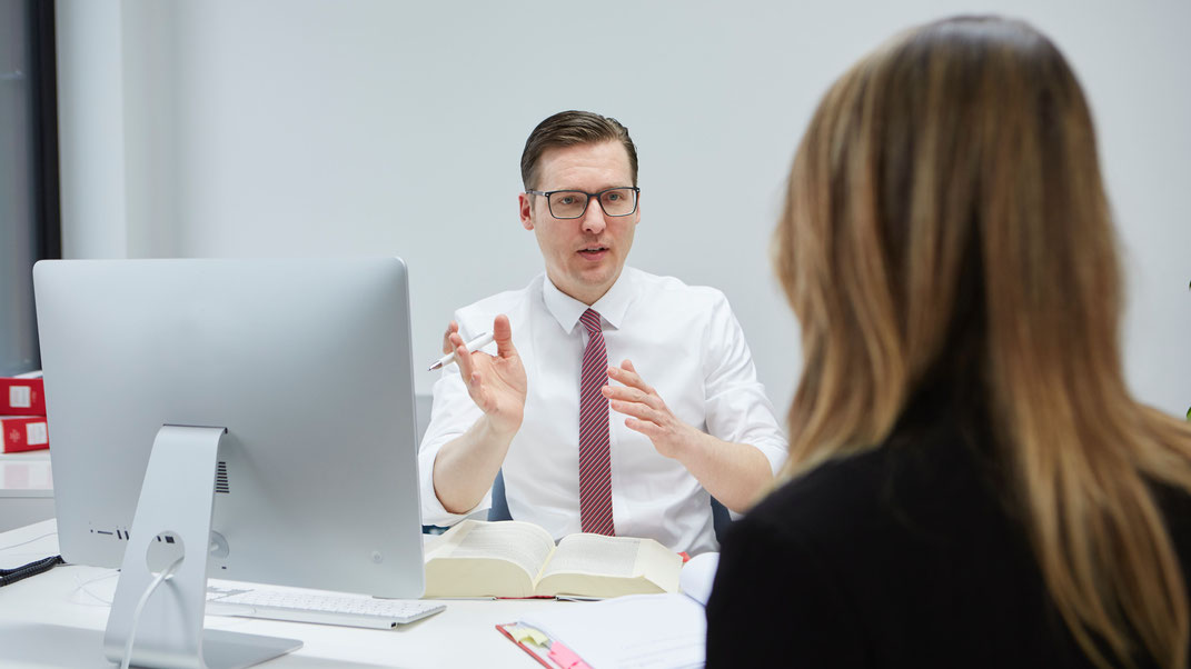 Fachanwalt Michael Graf berät kompetent zu den Erfolgsaussichten der Berufung.