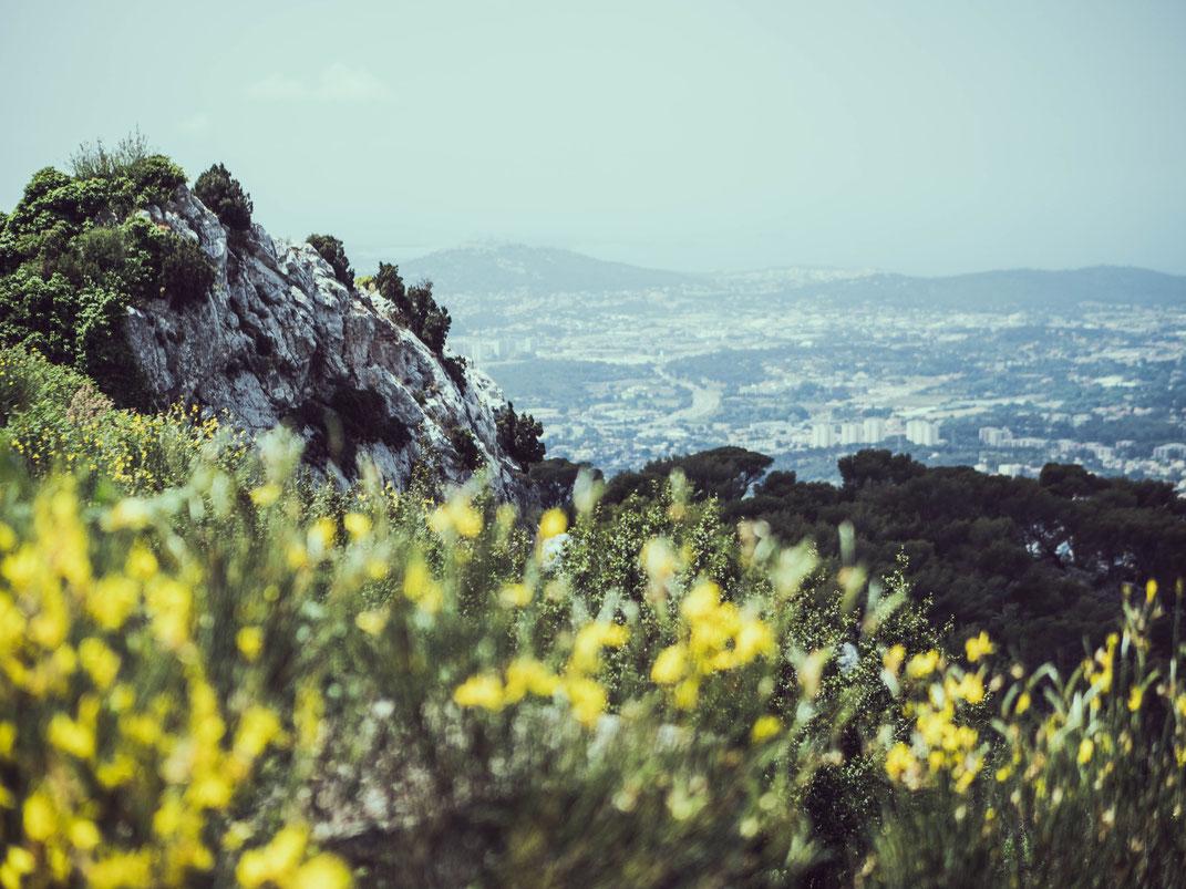 Sur les hauteurs de Toulon