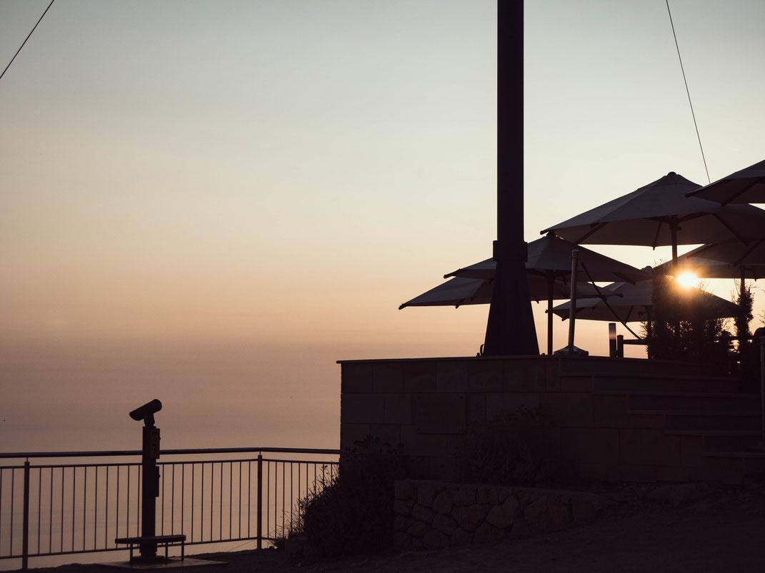 Coucher de soleil sur Dubrovnik
