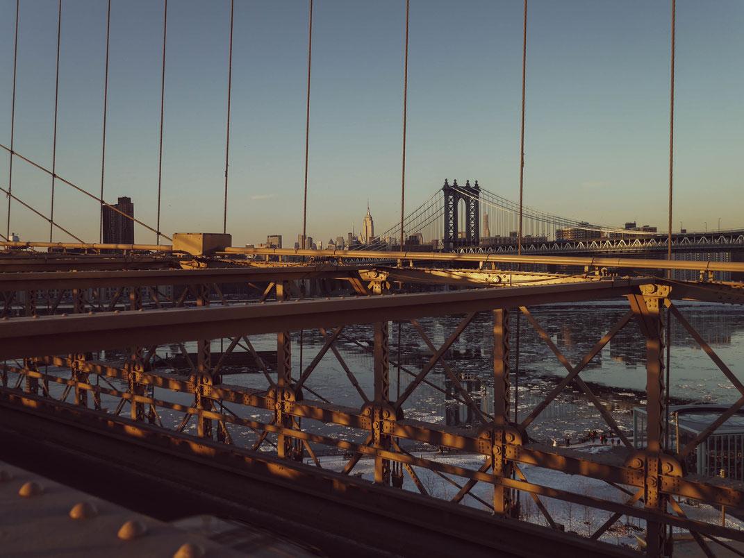 Heures dorées sur New-York