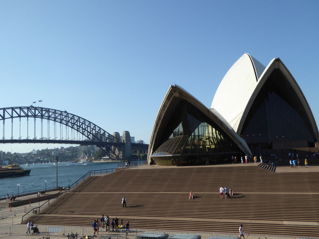 Sydney Opera House mit Harbour Bridge