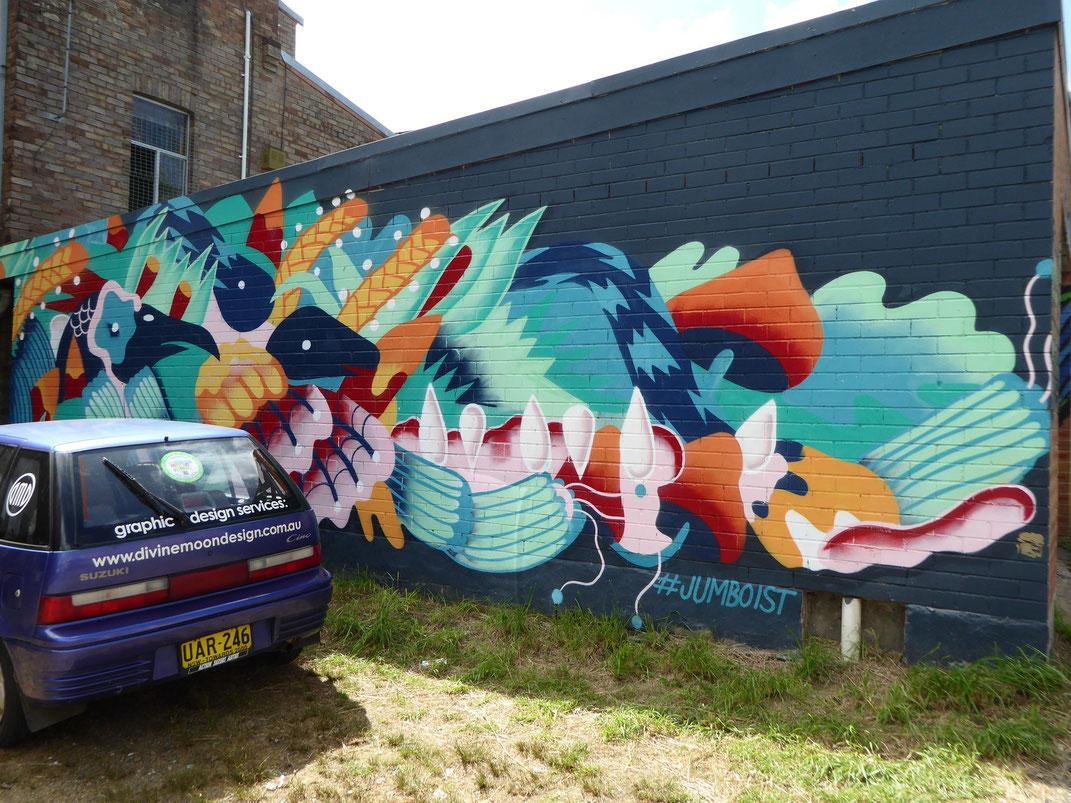 Street Art in Australien, Katoomba