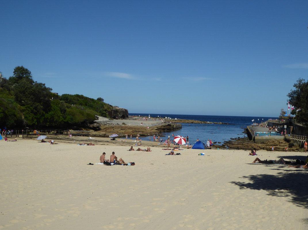 Strand entlang des Great Coastal Walk