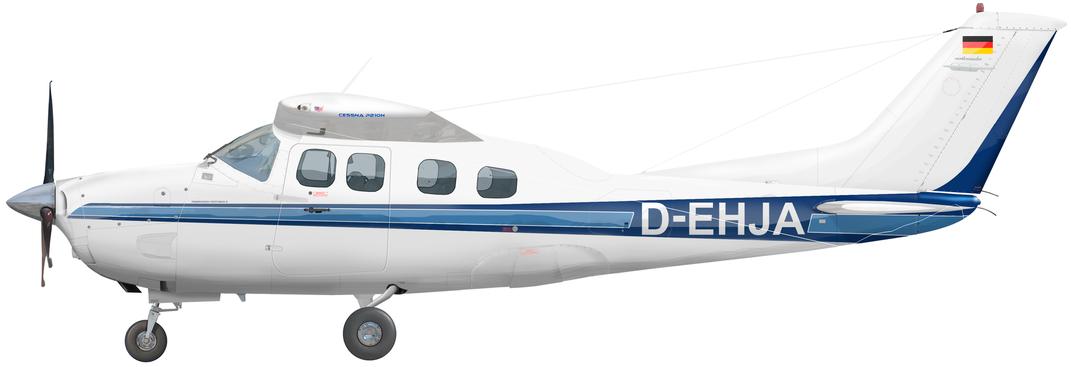 Cessna 210P Pressurized Centurion II