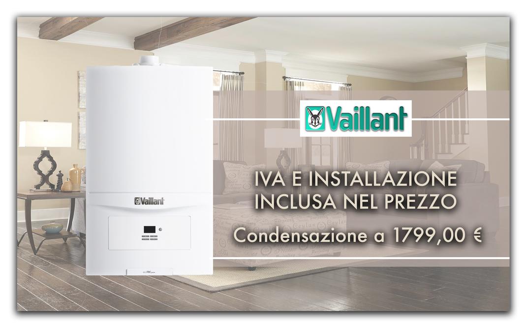 installazione di caldaia a condensazione in torino e provincia al miglior prezzo vaillant