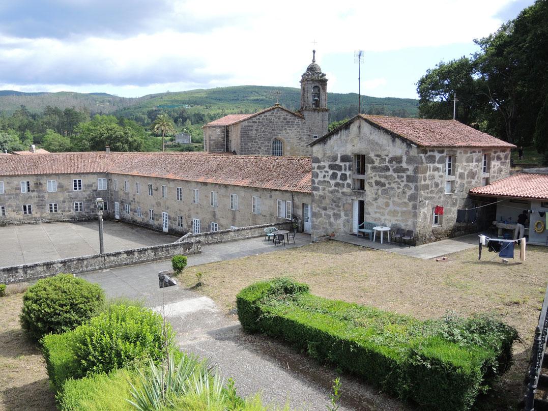 Herberge in Kloster Herbon.