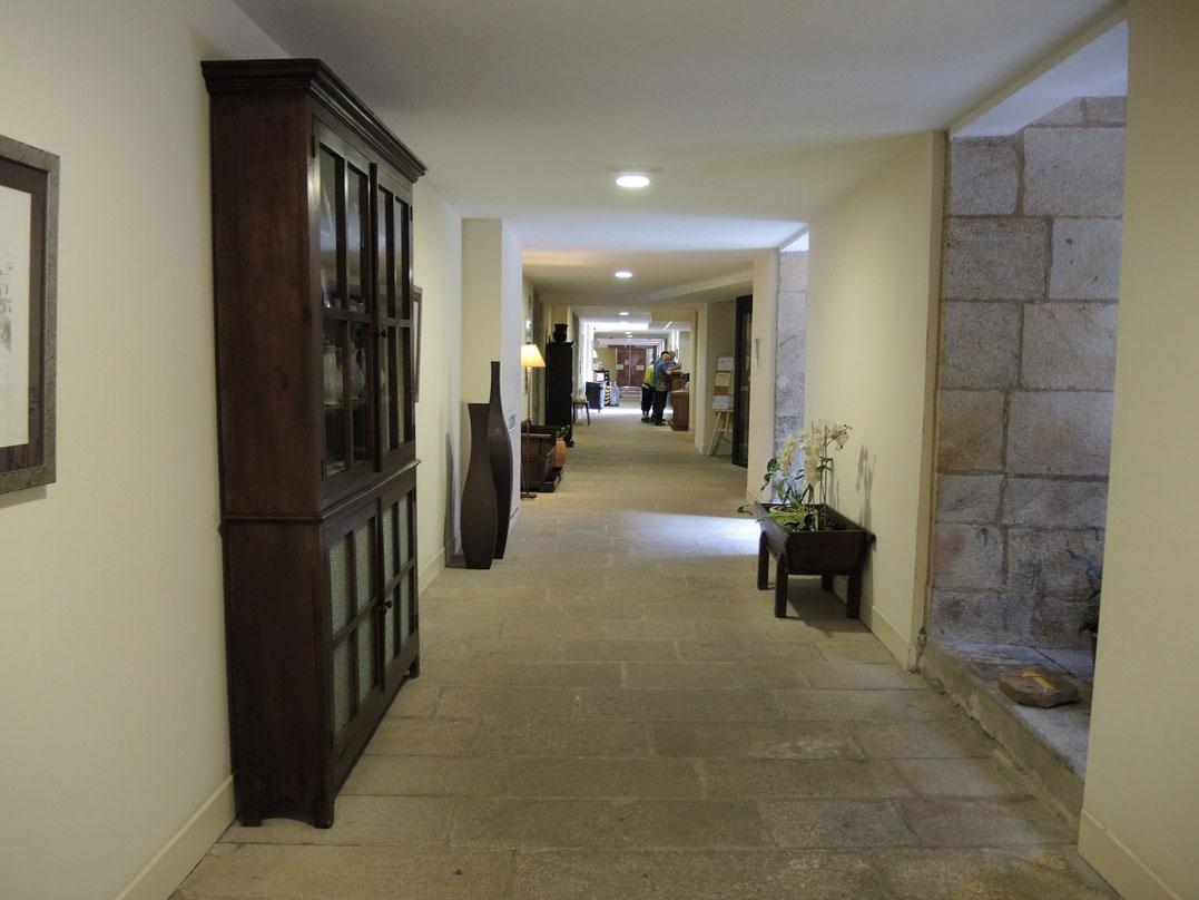 Übernachtung finde ich in klosterlichem Seminario Mayor