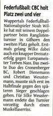 Westdeutsche Zeitung Bericht vom 30.05.2017